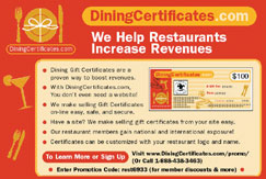 DiningCertificates.com